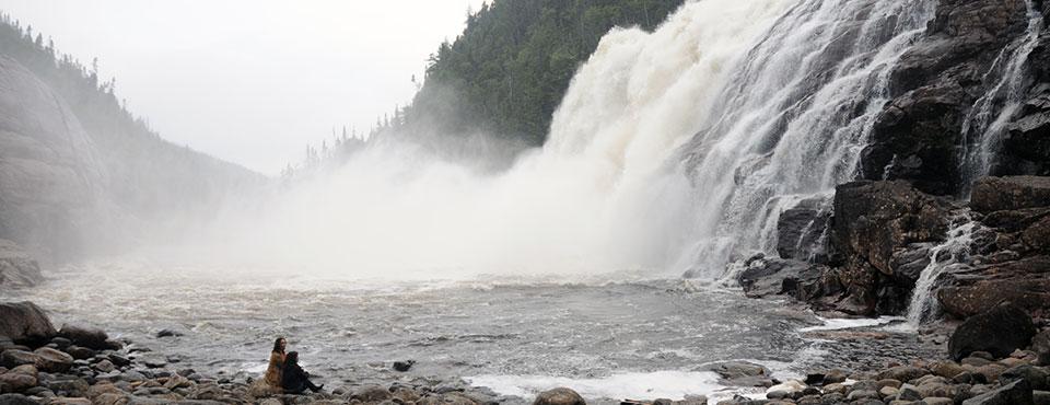 Manitou Falls - Norht Coast Quebec