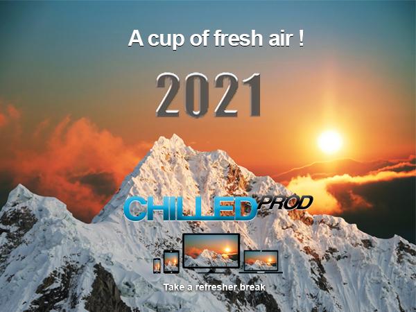 A cup of fresh air !